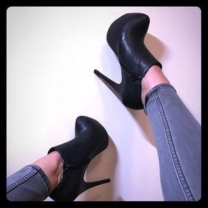Sexy platform heel booties